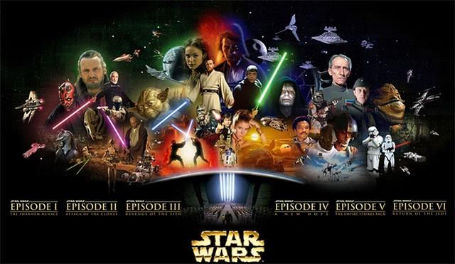 Gwiezdne wojny (części I-VI)