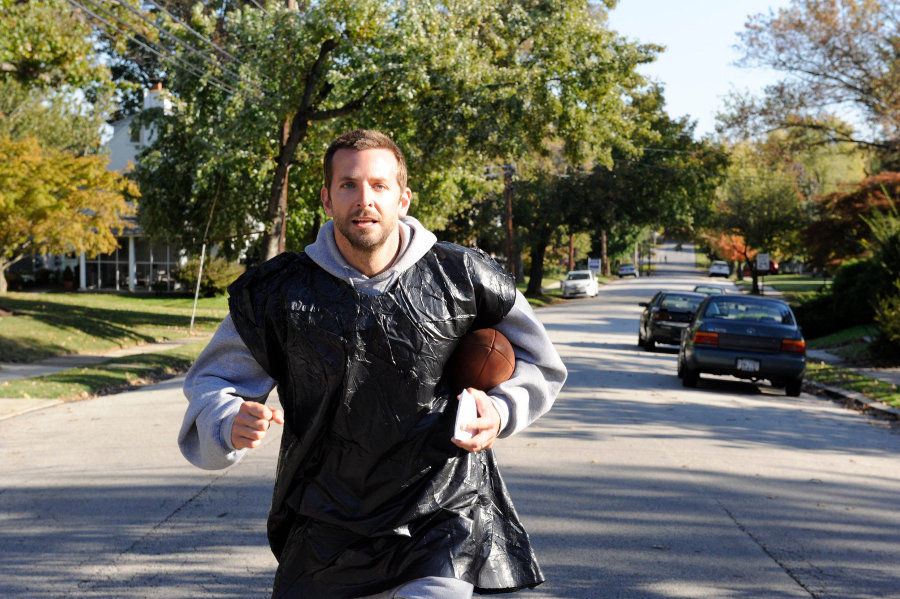 BRADLEY COOPER stars in SILVER LININGS PLAYBOOK
