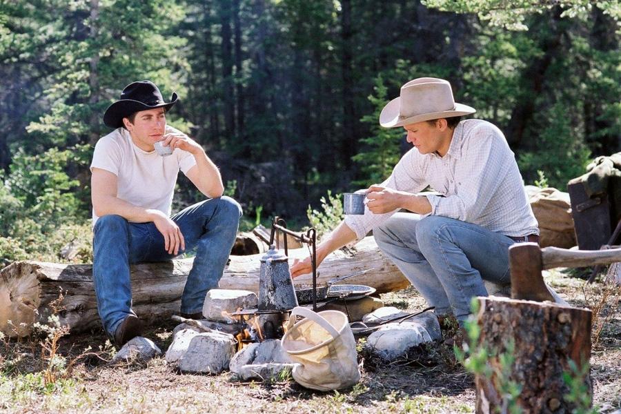 """zdjęcie z filmu """"Tajemnica Brokeback Mountain"""""""